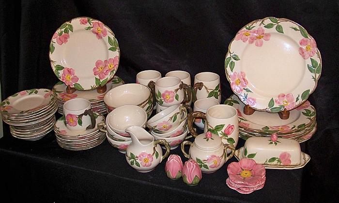 58 Piece Set of Franciscan Dinnerware