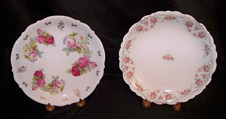 2 Large Serving Platters