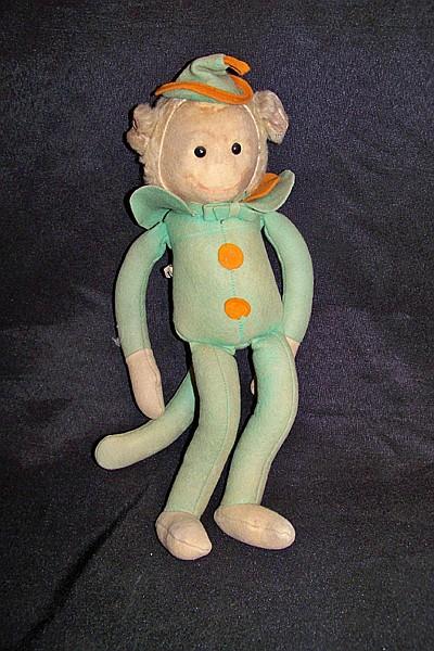 Vintage Krueger NY Monkey Doll