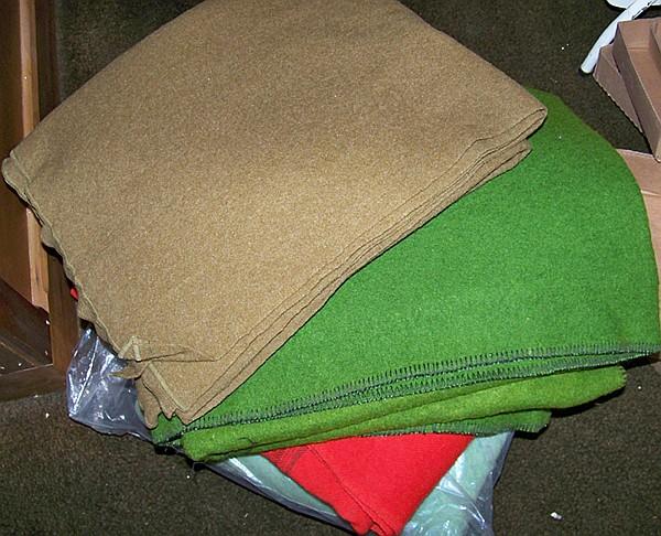 6 Wool Blankets