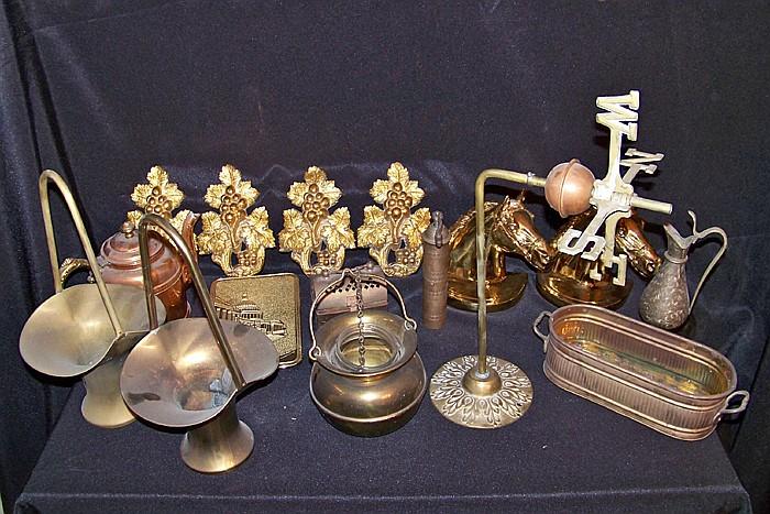 16 Pieces of Misc. Metalware