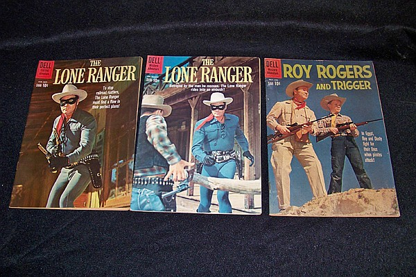 3 Vintage Comic Books