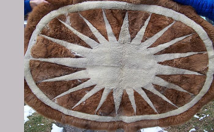 Handmade Alpaca Rug