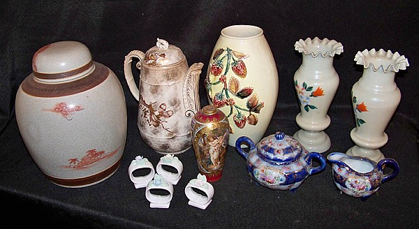 Assorted Decorative China