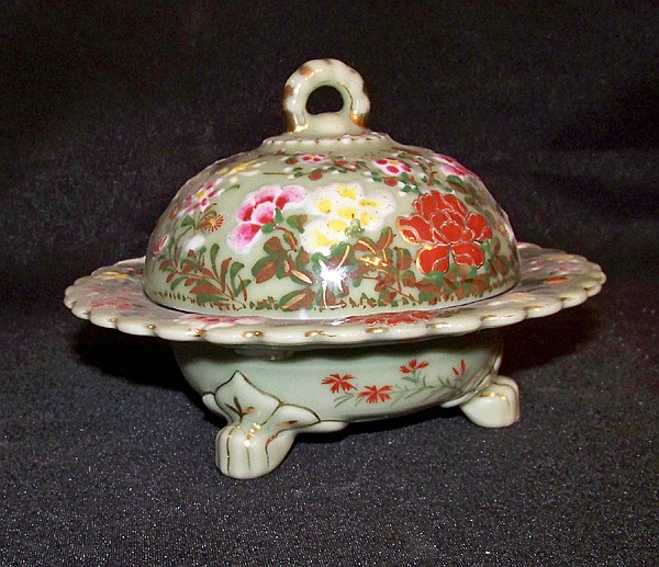 Nice Decorative Butter Dish with Lid