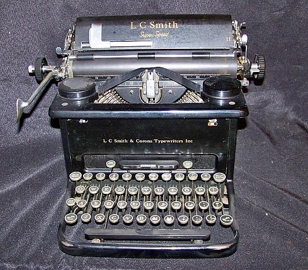 L C Smith & Corona Vintage Typewriter