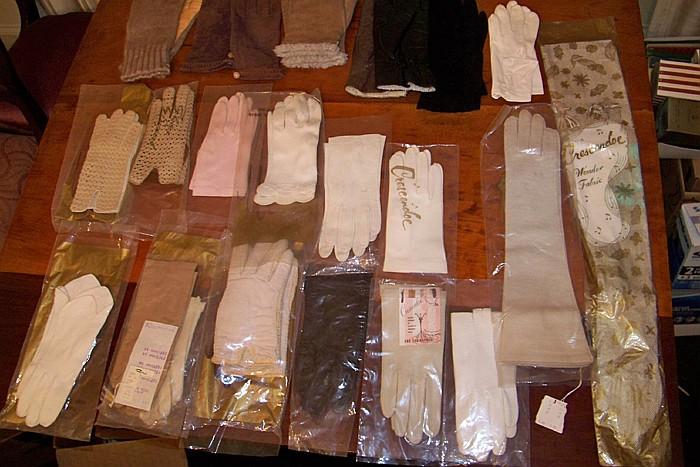 34 Pairs of Women's Gloves