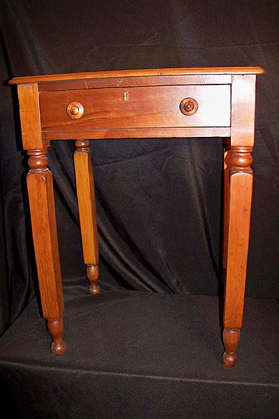 Cherry One Drawer Side Table