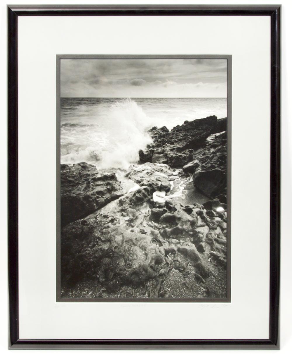 Clyde Butcher 'Blowing Rock #10' Photograph