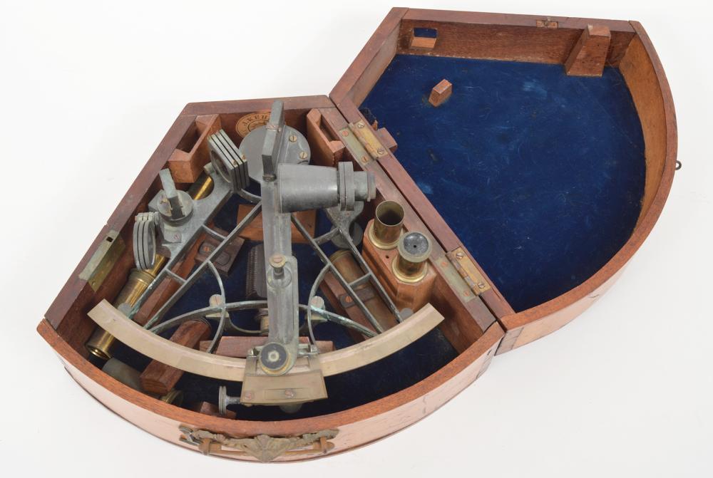 J. Kehew Sextant Maritime Nautical Instrument