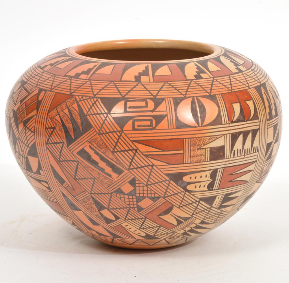 Rondina Huma Polychrome Handpainted Bowl