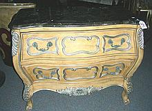 BOMBAY COMMODE WITH MARBLE TOP