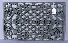 HEAVY CAST IRON WELCOME MAT