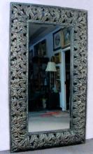LARGE OPEN WORK COMPOSITION MIRROR