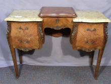 ANTIQUE FRENCH VANITY TABLE