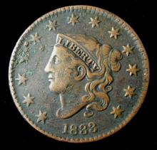 1833 LARGE ONE CENT COIN
