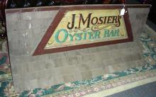 CLASSIC VINTAGE HAND PAINTED WOODEN SIGN