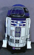 LARGE HUMOROUS R2D2 PEPSI COOLER