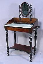 ANTIQUE MINIATURE VANITY