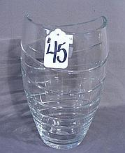 CONTEMPORARY CRYSTAL VASE