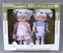2001 HORSMAN CAMPBELLS KIDS SPECIAL EDITION MILLENNIUM DOLL SET