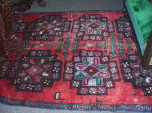 HAND KNOTTED NORTH WEST PERSIAN AREA RUG