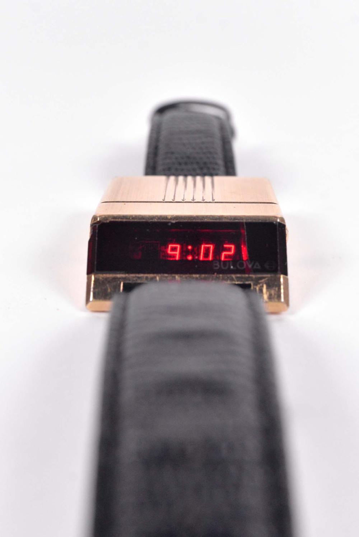 Bulova - LED Computron men's watch - 1976