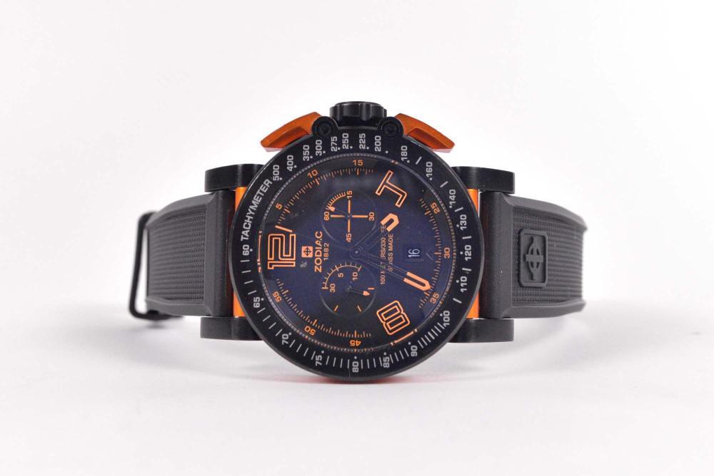 Zodiac - Men's chronometer and tachymeter ZMX-02 watch - c.2000