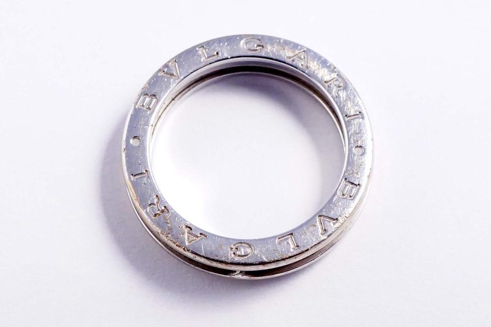 Bulgari - 18K white gold ladies ring