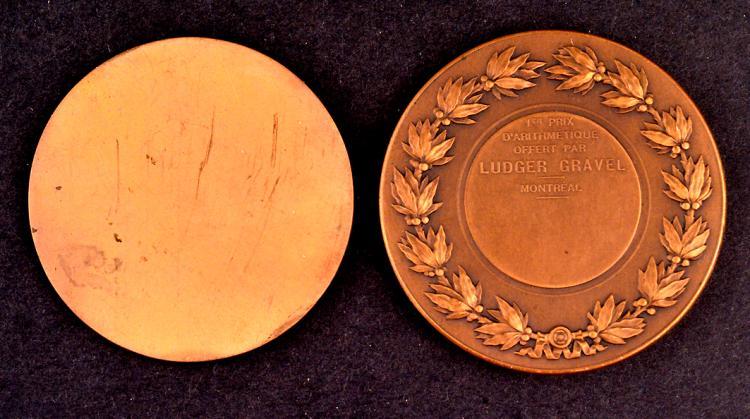 Quebec Medal Lot