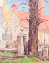 Bruni, Umberto (1914- ) Premier jour de printemps à Québec (1972)