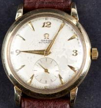Vintage Omega Gold Plated Cal. 342 Automatic Wristwatch