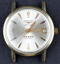 1960's Swiss Made Longines Admiral Automatic Gold Filled Mens Dress Watch