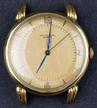 Vintage Swiss Made Universal Genève Cal.129 Gold Filled & Stainless Watch