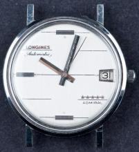 1960's Swiss Made Longines Admiral Automatic Monobloc Case Mens Dress Watch