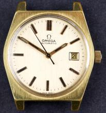 1970's Omega Automatic Watch with Electroplated Gold Case