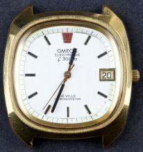 Classic 1972 Omega DeVille Chronometer Electronic 300hz Watch