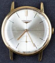 1968 18 Kt Gold Longines Mens Dress Wristwatch
