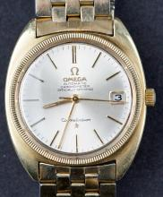Vintage Automatic Omega Constellation Chronometre Officially Certified Wristwatch