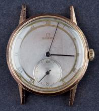 Early 1939 Omega 14 Kt Pink Gold Cal.30T2 Manual Wind Watch