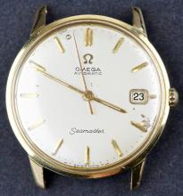 18 Kt Gold Omega SEAMASTER Vintage 1966 Automatic Watch