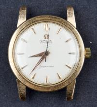 Vintage 18 Kt Gold Automatic Omega Seamaster Cal. 552 Watch