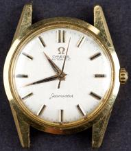 Vintage 18 Kt Gold Omega SEAMASTER Automatic Watch