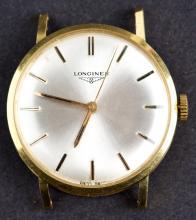 Classic Longines Cal.284 Mechanical Hand Winding 18 Kt Gold Mens Dress Watch