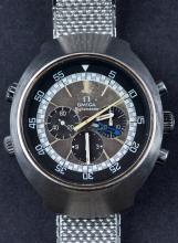 Vintage Omega Flightmaster Chronograph Wristwatch