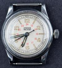 Classic 1940's Wartime Vintage Rolex Oyster Raleigh Watch