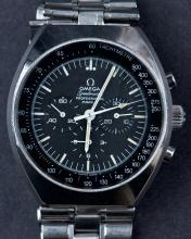 Circa 1970's Omega Speedmaster Chronograph Mark II Wristwatch