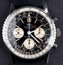 Vintage 1965 Swiss Made Breitling Navitimer 806 Chronograph