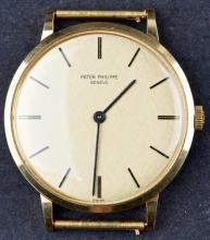Vintage 1960's 18 Kt Gold Patek Philippe 3468
