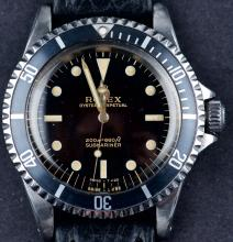 Vintage 1966 Rolex Submariner Oyster Perpetual 5513